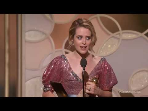 Claire Foy - The Crown - Golden Globes 2017