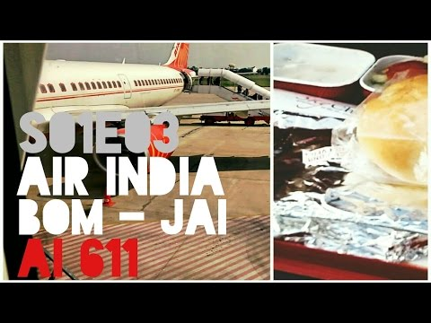 Air India | Flying Mumbai to Jaipur | Flight Reports | Economy Class | AI 611