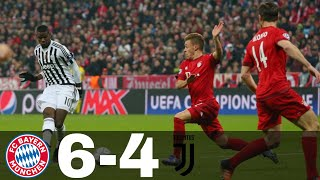 Bayern Munich vs Juventus 6-4 All Goals & Highlights | UCL 2015/16
