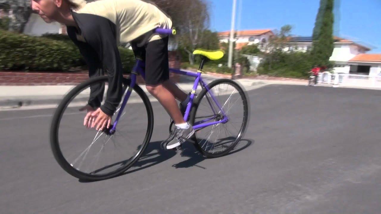 how to make a fixie bike