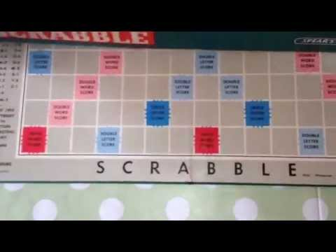 How To Play Scrabble Board Game Rules Instructions Letter Tiles