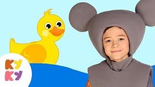 КРЯ КРЯ - КУКУТИКИ - Развивающая обучающая детская песенка мультик про животных для детей малышей