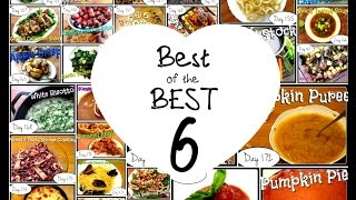 Best of the BEST 6 (Laura in the Kitchen Recipes Review) Food Challenge: DAYS 151-180