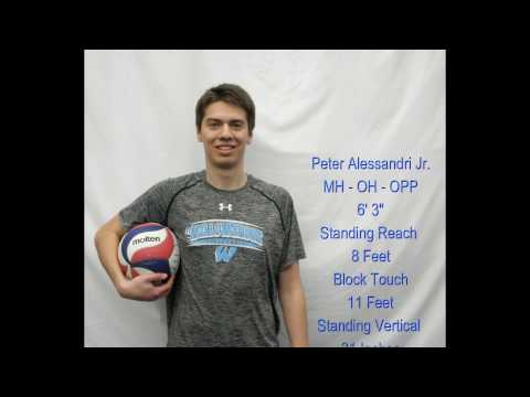Pete Alessandri Jr. McCormick Place Volleyball Highlights 2017