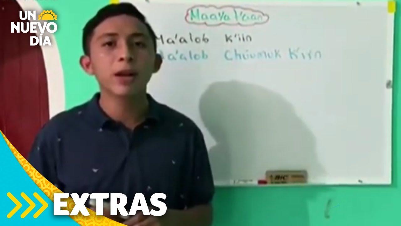 Tik Tok: nuevo método de enseñanza del lenguaje Maya   Un Nuevo Día   Telemundo