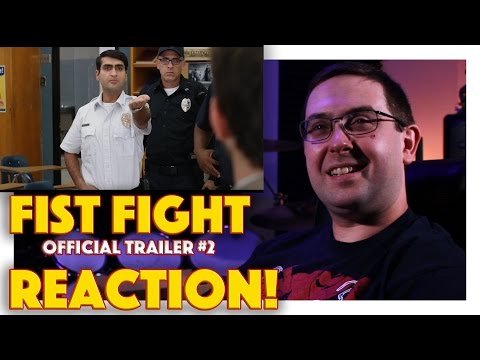 REACTION! Fist Fight Official Trailer #2 - Ice Cube Movie 2017
