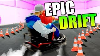 DRIFT CON 4 CRAZZY KART XL!!! MONTAJE DE DRIFT KING Makiman