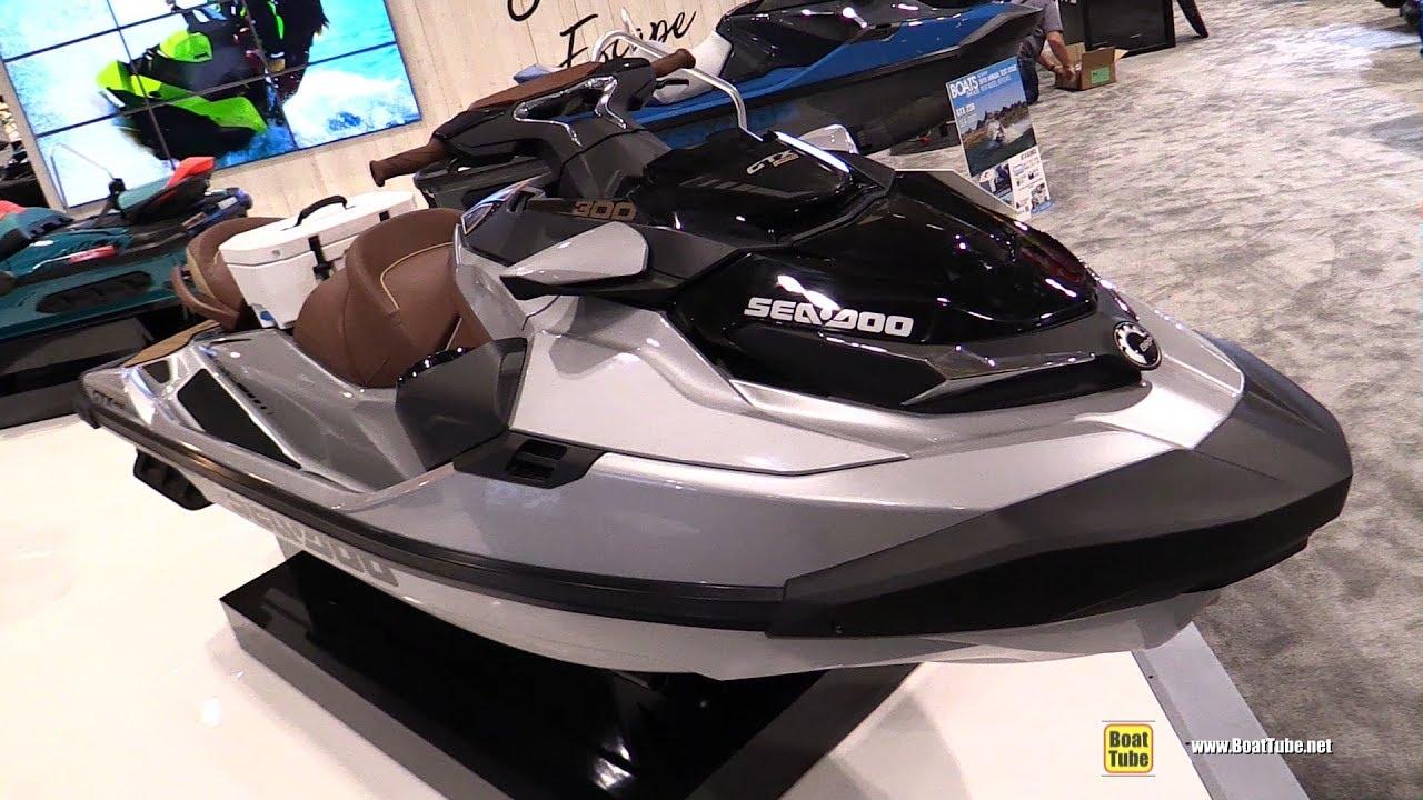 2018 sea doo gtx limited 300 jet ski walkaround 2018 toronto boat show youtube. Black Bedroom Furniture Sets. Home Design Ideas