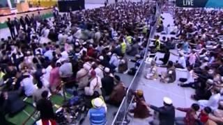 Bai'at Ceremony Jalsa Salana Germany 2012 by Hadhrat Mirza Masroor Ahmad (aba)