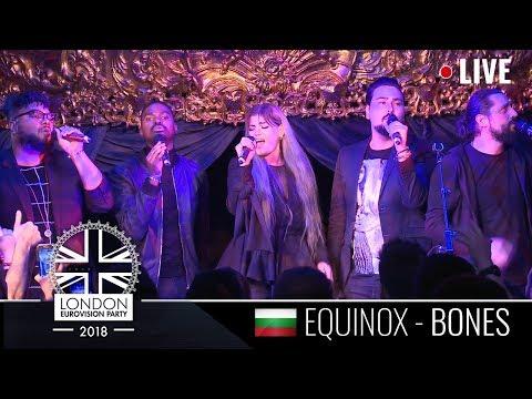 EQUINOX - Bones - 1st LIVE PERFORMANCE - Eurovision 2018 - Bulgaria - LONDON EUROVISION 2018