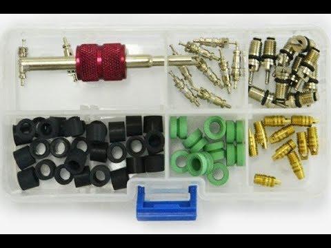 Расходники для заправки и ремонта авто кондиционера