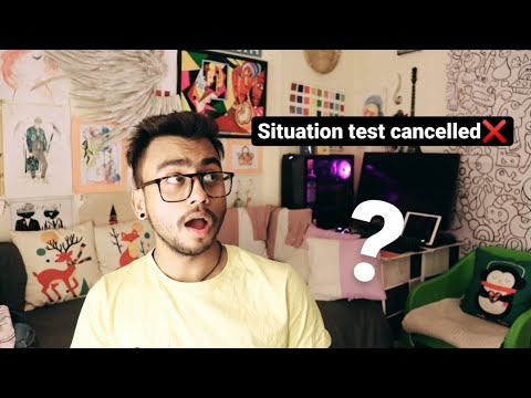 IS SITUATION TEST CANCELLED FOR 2021?