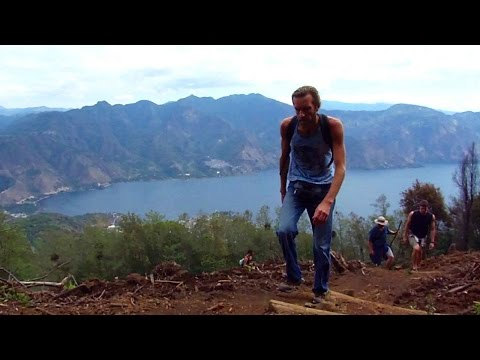 AWESOME VOLCANO CLIMBING ADVENTURE! Lake Atitlan, Guatemala