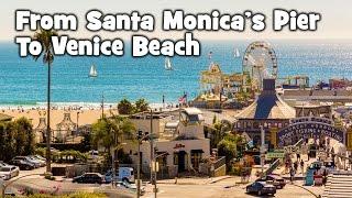 From Santa Monica to Venice Beach