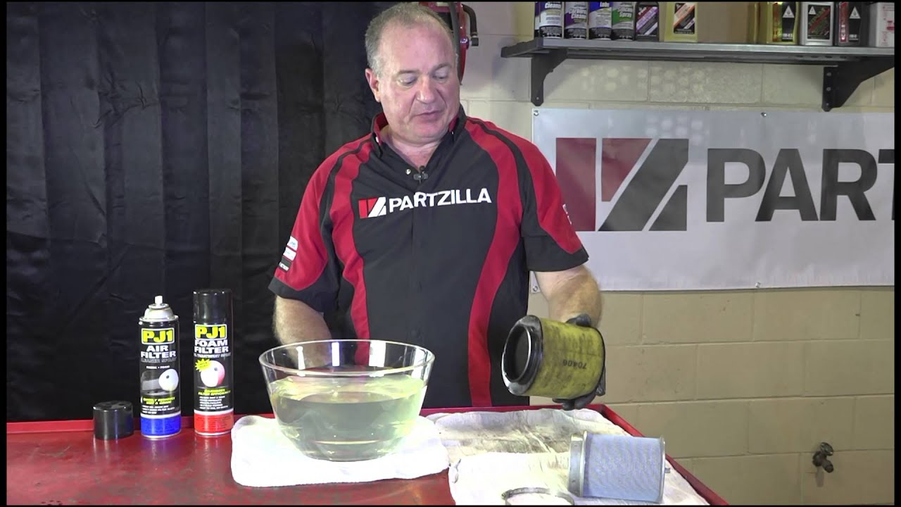 How To Clean And Oil An Atv Air Filter Partzillacom Youtube 2006 Polaris Sportsman 450 Fuse Box Location