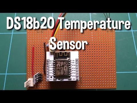 Build a DS18b20 Temperature Sensor on a ESP8266