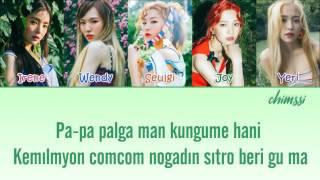 Video [Kolay Okunuş / Easy Lyrics] Red Velvet - Red Flavor (빨간 맛) download MP3, 3GP, MP4, WEBM, AVI, FLV Januari 2018