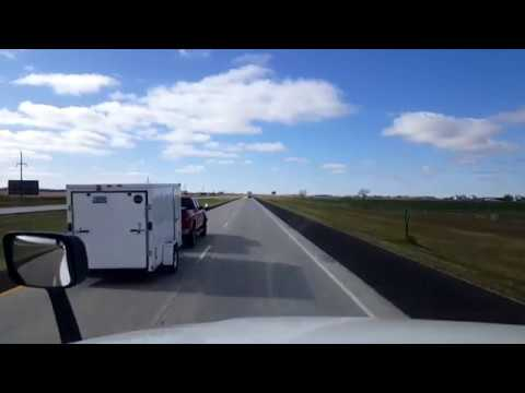 BigRigTravels LIVE! Mitchell to Rapid City, South Dakota Interstate 90 West-Oct. 27, 2017