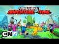 Adventure Time   Minecraft Intro   Cartoon Network