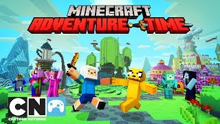 Adventure Time | Minecraft Intro | Cartoon Network