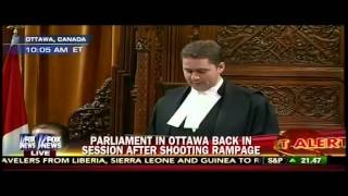 Canadian Sergeant-at-Arms Honored With a Heroic Applause