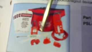 Kit de Seguridad para Electricistas PSL-PK-EA Electrian Lockout kit, Tagout, Panduit, Industrial |