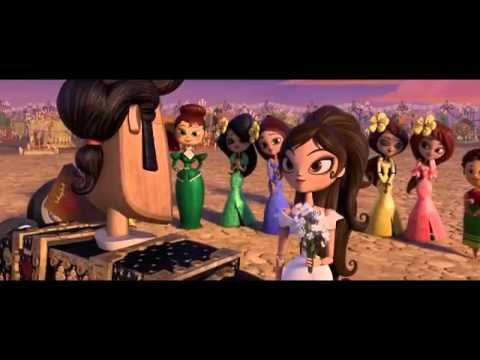 I will not you let go..  the book of life movie song