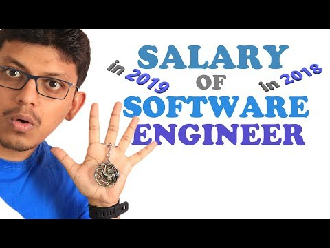 Salaries Of Software Engineer - 2018 & 2019 . Freshers, 5+ Exp & 10+ Exp. Avg|Lowest|Higest.