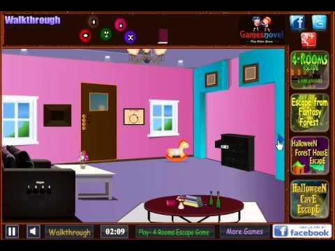 Garden pink house escape game walkthrough youtube for Minimalist house escape 2 walkthrough