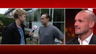 RTL Late Night met Twan Huys gemist: Wesley Sneijder over Hugo Borst