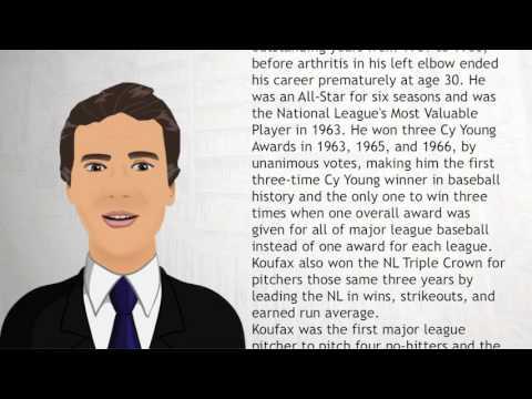 Sandy Koufax - Wiki Videos