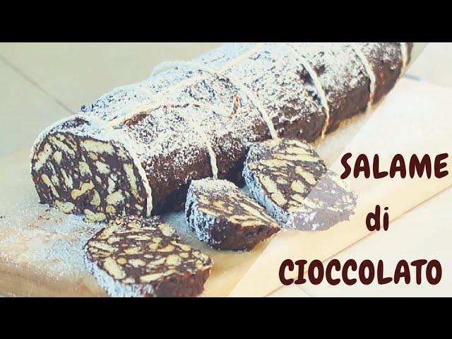 Ricetta Salame Di Cioccolato Senza Uova Fatto In Casa Da Benedetta.Salame Di Ciocciolato Fatto In Casa Da Benedetta Youtube