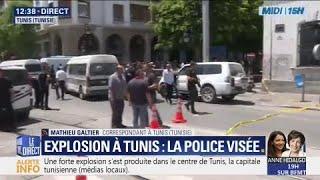 EN DIRECT #Tunisie Forte explosion entendue à Tunis