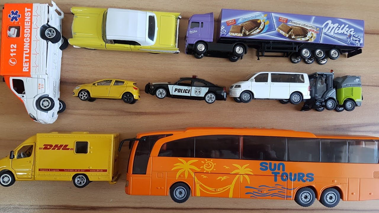 siku cars and siku bus unboxing with more cars and trucks. Black Bedroom Furniture Sets. Home Design Ideas