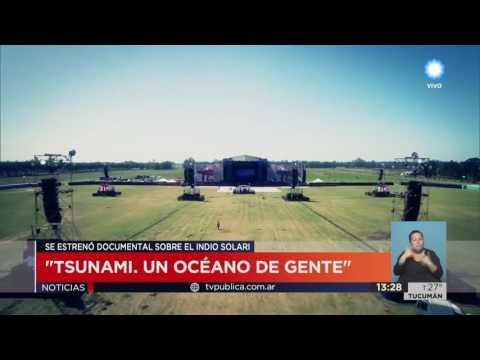 "TV Pública Noticias - Se estrenó ""Tsunami"",  la película del Indio Solari"