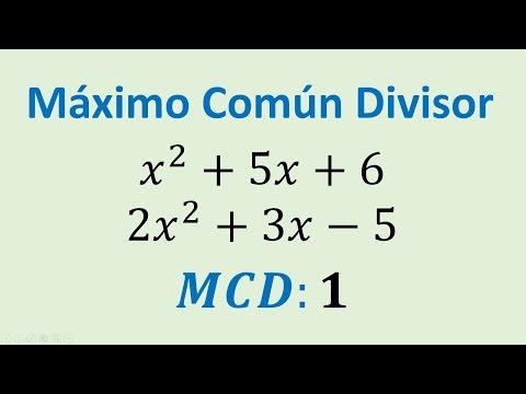Máximo Común Divisior (MCD) forma rápida Doovi