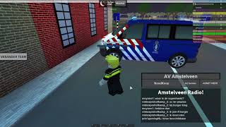 Roblox- AMSTELVEEN - L'ets essere un poliziotto eps 6