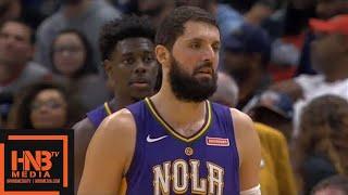 Utah Jazz vs New Orleans Pelicans 1st Half Highlights / Feb 5 / 2017-18 NBA Season