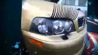 Pimp your ride - sexy eyelashes for cars