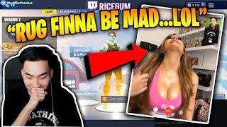 OH NO! RICEGUM CALLS FAZE RUG'S EX (MOLLY ESKAM) AND IT GOES RIGHT...?