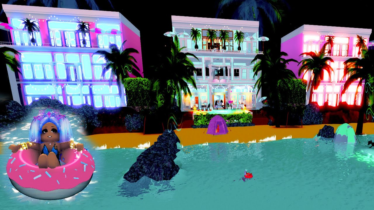Summer Beach House Vacation ( Roblox Royale High RP )