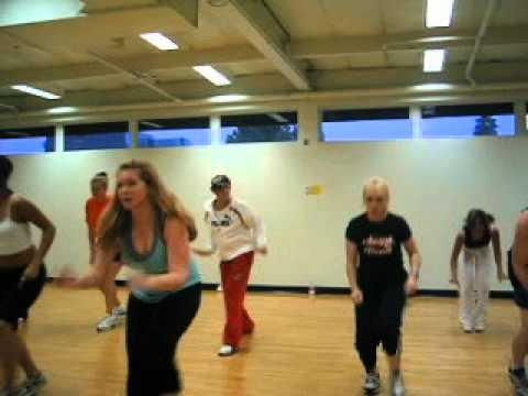 Tari Mannello Hip-Hop Choreography circa 2003 feat Cheri Dennis for 24 Hour Fitness