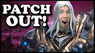 Grubby | Reforged Beta | PATCH OUT! We're Playing Arthas!
