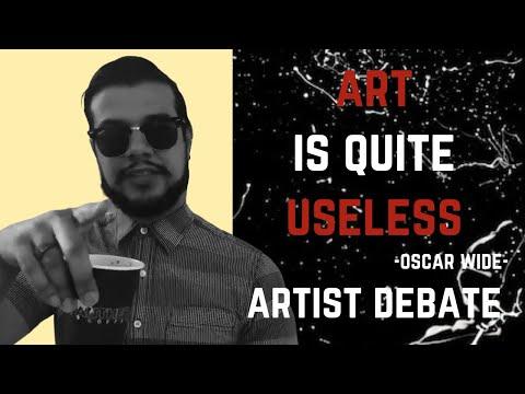"""""""Art Is Useless"""" (Really Oscar?!)"""