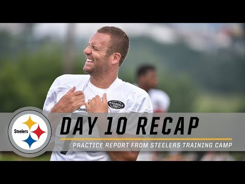 Sideline Report, Coach Tomlin & More from Day 10   Pittsburgh Steelers Training Camp