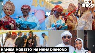 Hamisa Mobetto Gumzo/Diamond, Mama Dangote Wagoma kuja/Arobaini ya Mtoto wa mbosso