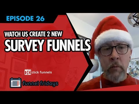 """Sales Funnel Examples -  Watch us Create 2 NEW """"Survey Funnels"""""""