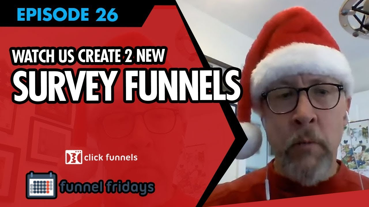 "Sales Funnel Examples -  Watch us Create 2 NEW ""Survey Funnels"""