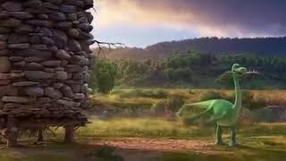 Хороший динозавр | Смотреть онлайн фрагмент из мультфильма |