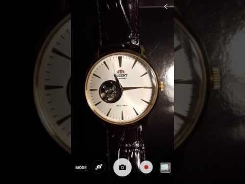 Orient Gold Esteem Open Heart (Cal 46A40 Mov't) [MACROVIEW]